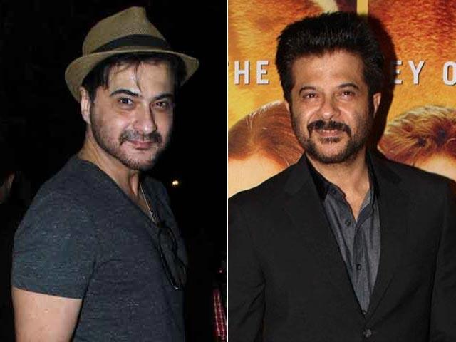 Anil Kapoor and Sanjay Kapoor