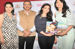 Gauahar Khan at AsiaSpa magazine cover launch