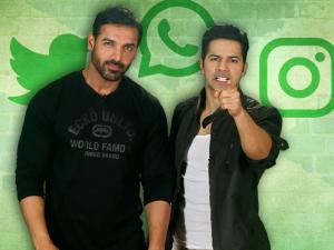 WATCH: John Abraham and Varun Dhawan new age 'DishoomDhamkis' are so apt!