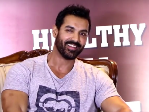 WATCH: John Abraham promotes 'Dishoom' at an event