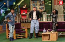 Kapil Sharma, Brett Lee and Tannishtha Chatterjee