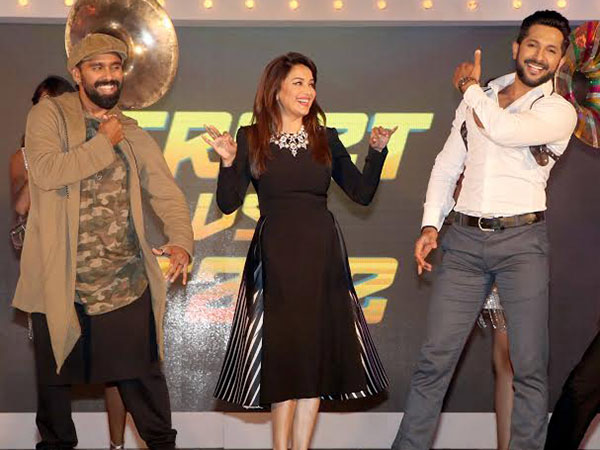Madhuri Dixit Nene gives marriage advice to Terence Lewis and Bosco Martis