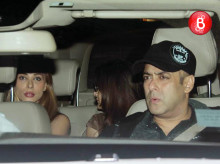 Salman Khan and Iulia Vantur snapped arriving at a private family bash