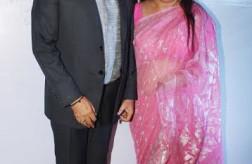 Sambhavna Seth's wedding reception