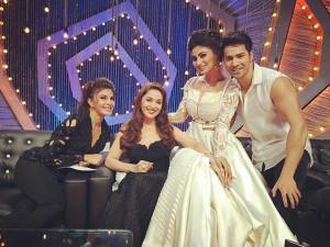 Varun Dhawan and Jacqueline Fernandez promote 'Dishoom' on dance show