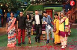 Sunil Grover, filmmaker Anupam Chopra, Tannishtha Chatterjee, Brett Lee, Kapil Sharma, Kiku Sharda, Ali Asgar