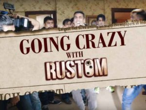 Watch: Akshay Kumar's craziness behind the sets of 'Rustom' will make you giggle
