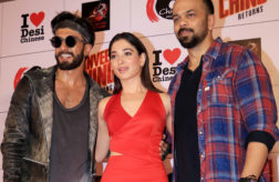 Watch: Ranveer Singh and Rohit Shetty at 'Ranveer Ching Returns' launch