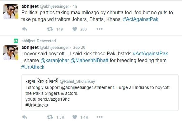 abhijeet-tweet-on-pak-actors
