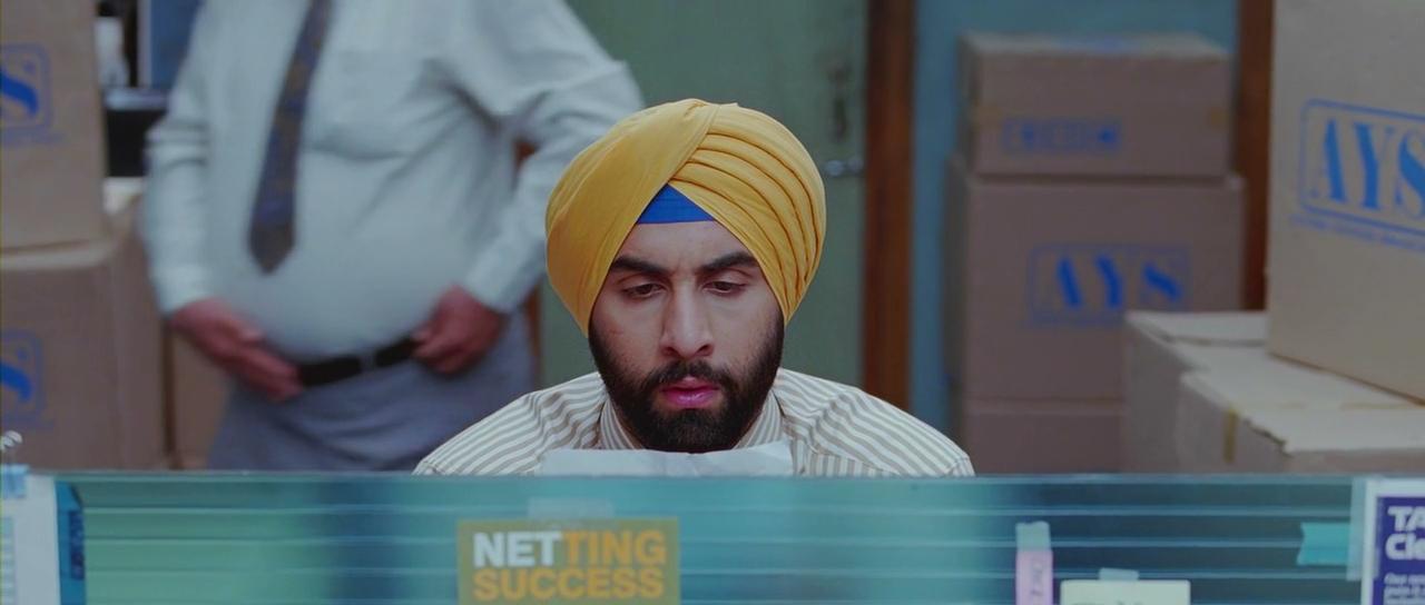 Harpreet Singh Bedi in 'Rocket Singh: Salesman of the year'