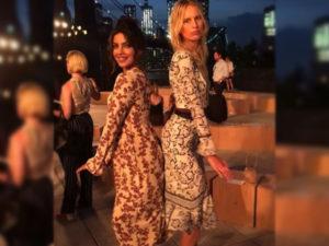 MUST WATCH! Priyanka Chopra shaking her booty with Karolina Kurkova at NYFW