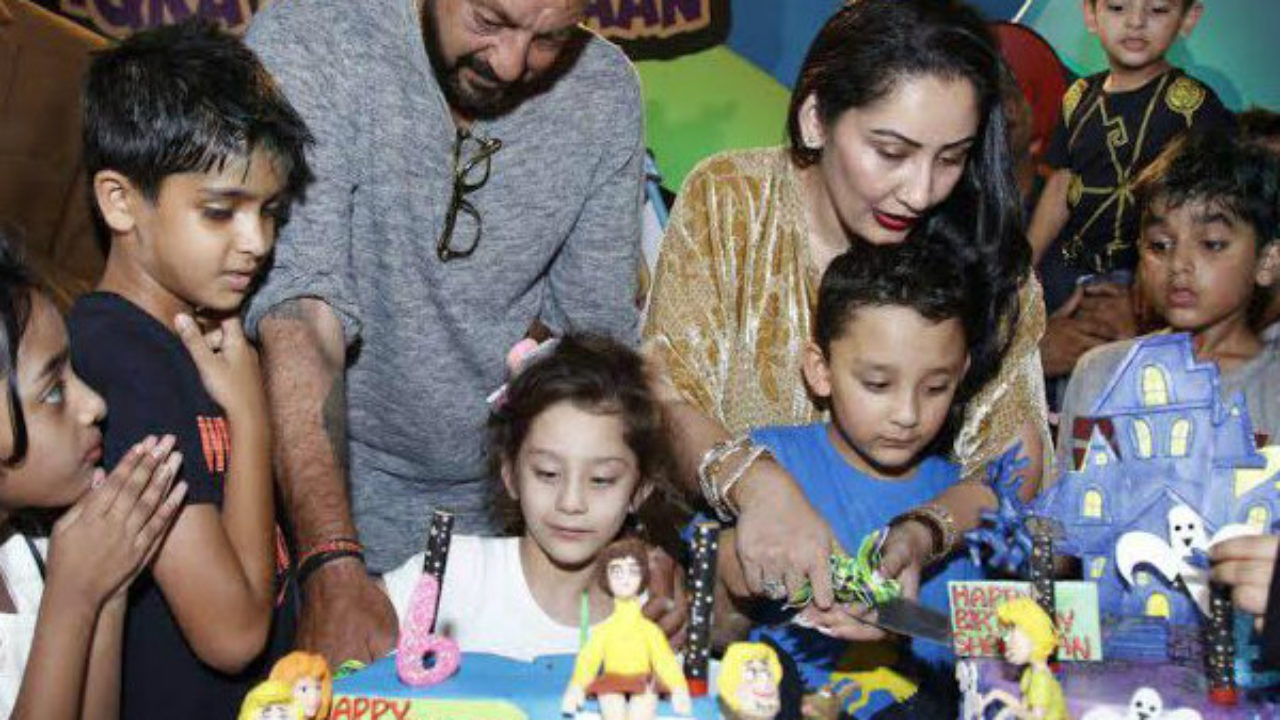 Invitation card for Sanjay Dutt's twins' birthday is the