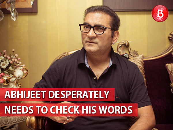 An open letter to Abhijeet Bhattacharya: How about calming down a bit, sir?
