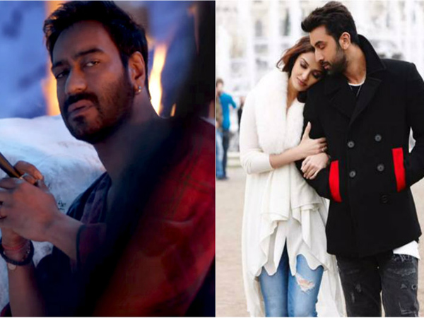 'Ae Dil Hai Mushkil' and 'Shivaay' show growth on their second Saturday