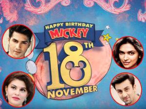 Watch: Deepika Padukone, Ranbir Kapoor and many celebs wish Mickey Mouse on his birthday