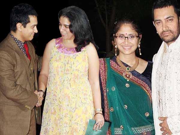 Aamir Khan, Kiran Rao, Reena Dutta