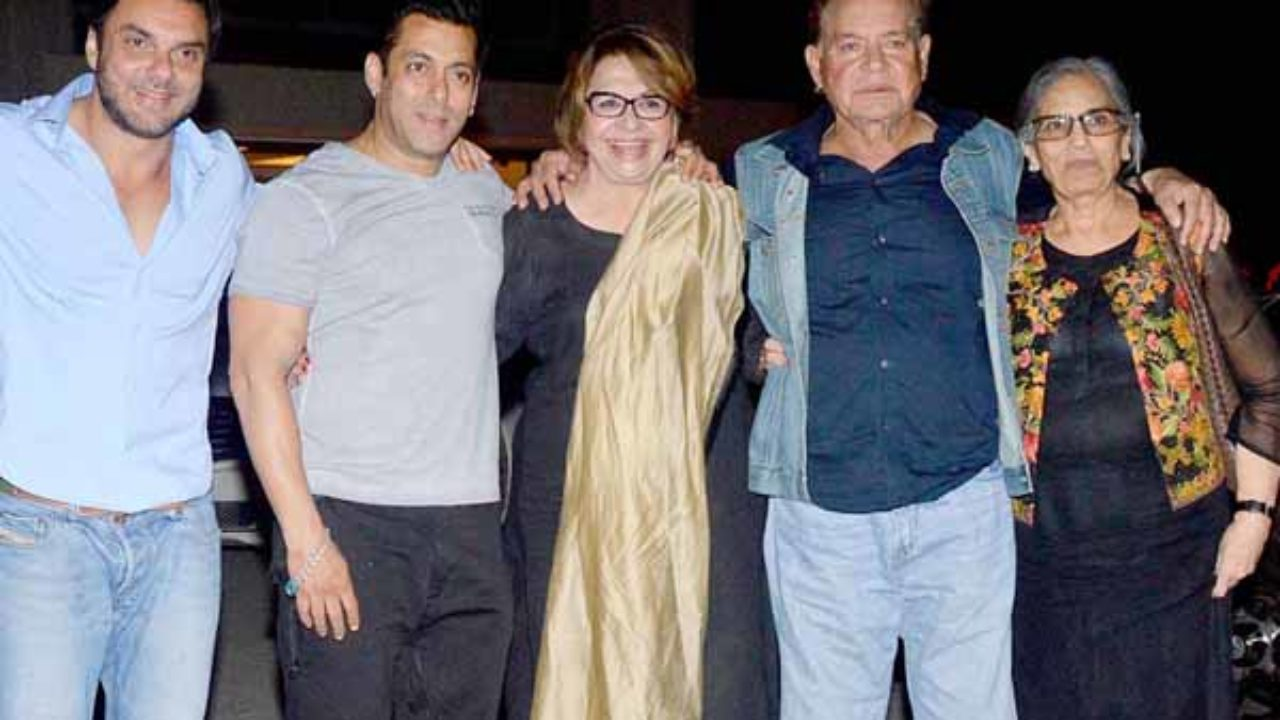 Image result for salim khan with wives
