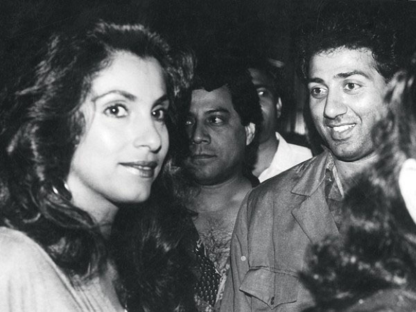 Sunny Deol and Dimple Kapadia love story