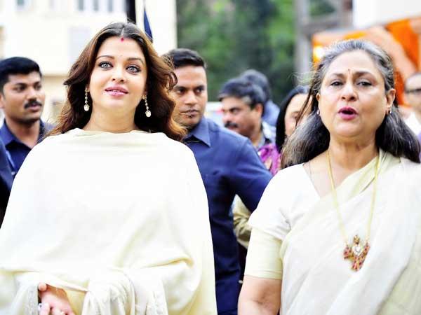 Aishwarya Rai and Jaya Bachchan picture
