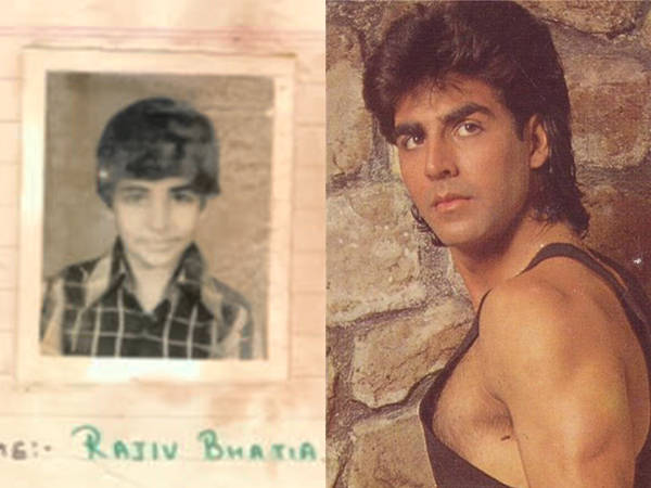 How Rajiv Bhatia changed his name to Akshay Kumar
