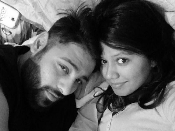 Badshah with wife Jasmine