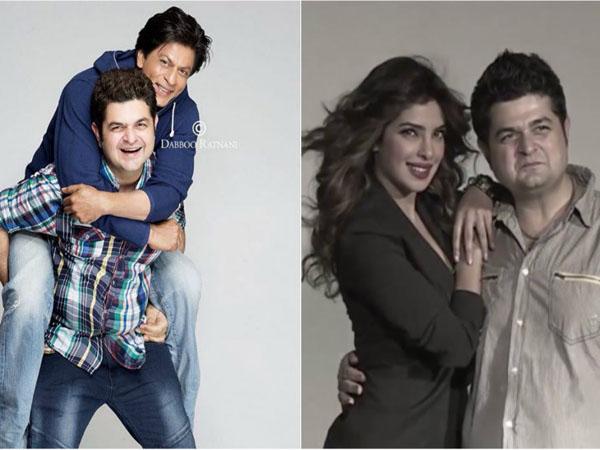 Dabboo Ratnani, Shah Rukh Khan, Priyanka Chopra