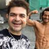 Dabboo Ratnani with Tiger Shroff