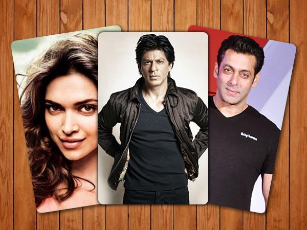 Forbes richest celebs 2016 Shah Rukh Khan, Salman Khan, Deepika Padukone