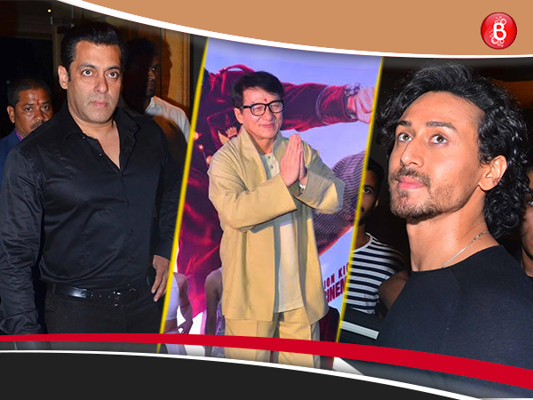 PICS: Salman Khan, Tiger Shroff and others have their fan moment on meeting Jackie Chan