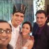 Nauheed Cyrusi, Rustom, Mehul Nisar and Rushad Rana