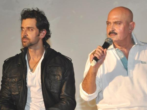 Rakesh Roshan, Hrithik Roshan