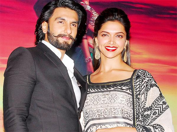 PICS: Ranveer Singh and Deepika Padukone arrive at the ...