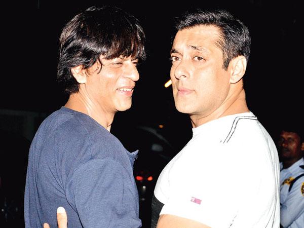 Shah Rukh Khan and Salman Khan emotional