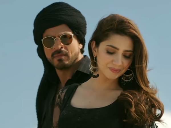 Shah Rukh Khan, Mahira Khan in Raees