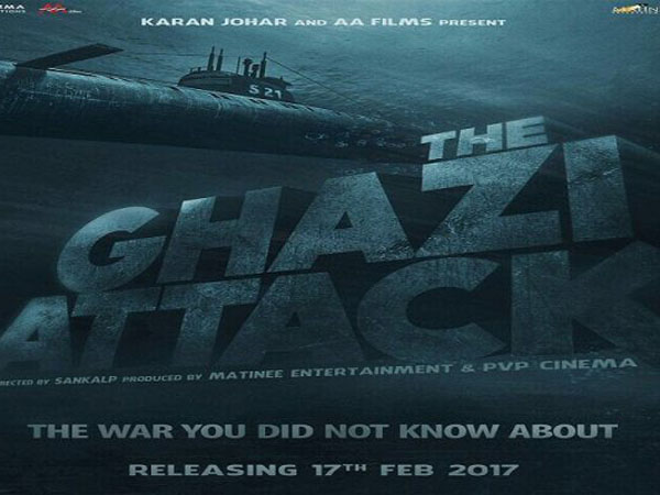 The Ghazi Attack movie