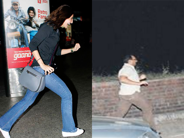 Vaani Kapoor is snapped running away from media at airport