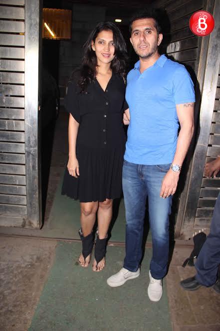 Ritesh Sidhwani and Dolly Sidhwani