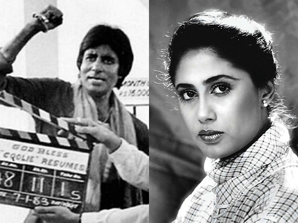Amitabh Bachchan on late actress Smita Patil and accident on 'Coolie' sets