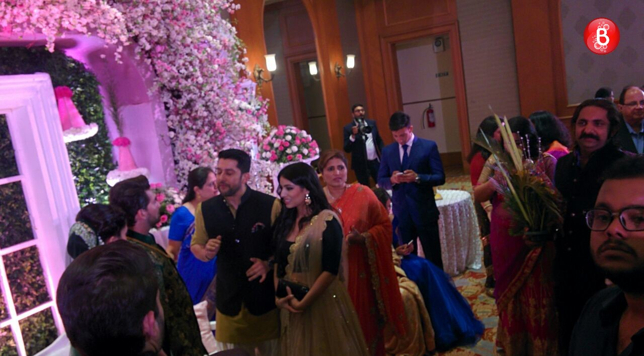 Town gathers to bless newly-wed Neil, Rukmini