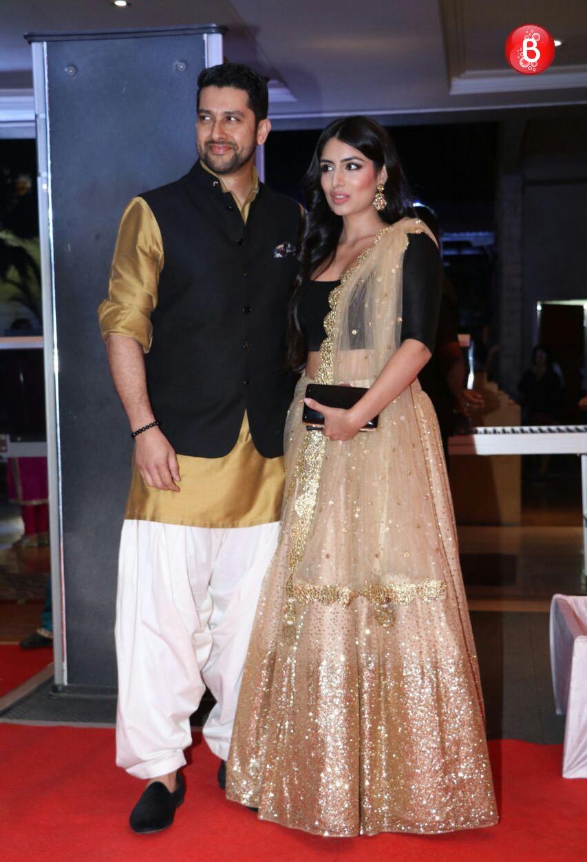 Aftab Shivdasani and wife Nin Dusanj