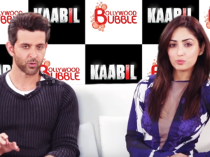 Catch 'Kaabil' actors Hrithik Roshan And Yami Gautam talking about their 'Kaabil' moments