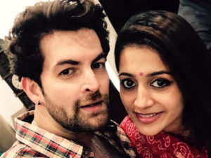 Watch: Newly married Neil Nitin Mukesh and Rukmini Sahay spotted in Mumbai