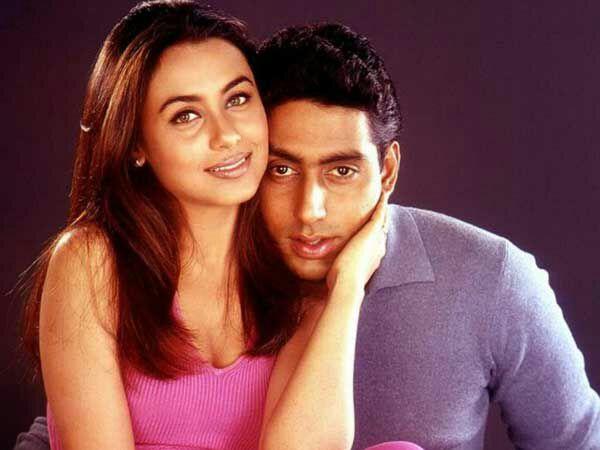 Rani Mukerji and Abhishek Bachchan