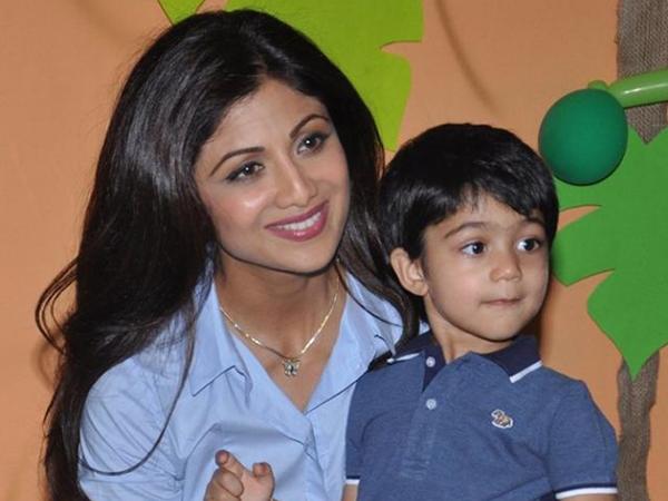 Shilpa Shetty Kundra's son Viaan Raj Kundra Oscars 2017