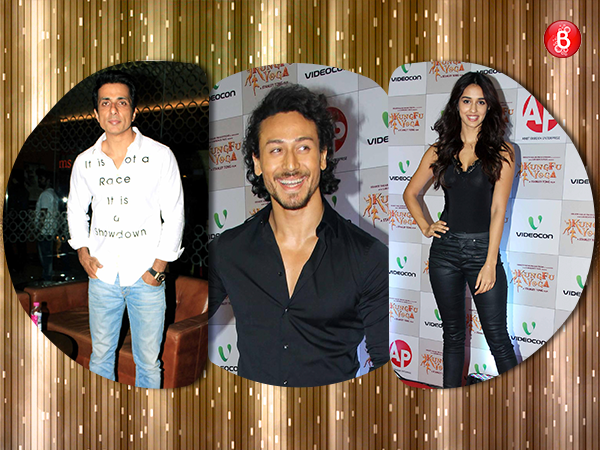 PICS: Tiger Shroff, Disha Patani and others attend 'Kung Fu Yoga' premiere, sans Jackie Chan