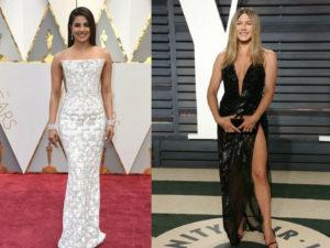 WATCH: Priyanka Chopra tries her hands at hosting, interviews Jennifer Aniston