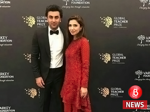 Mahira and Ranbir in Dubai