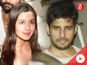 WATCH: Sidharth Malhotra and others attend Alia Bhatt's birthday party at her residence