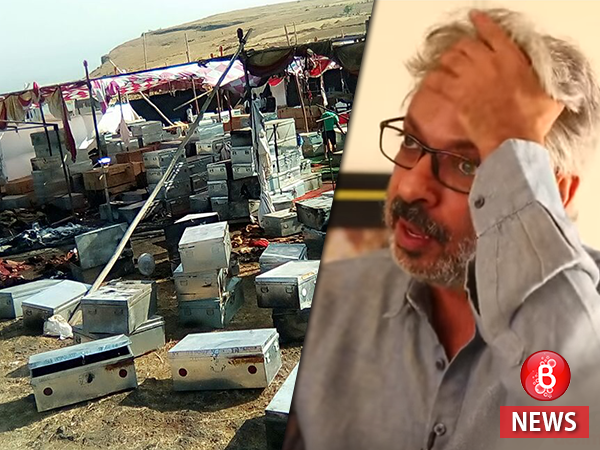 Bhansali's 'Padmavati' set burnt down again by vandalizers