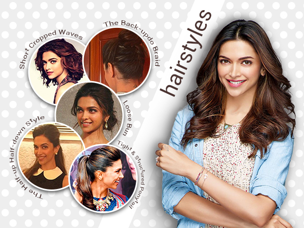 Note down all these glamorous hairstyles of Deepika Padukone ASAP!
